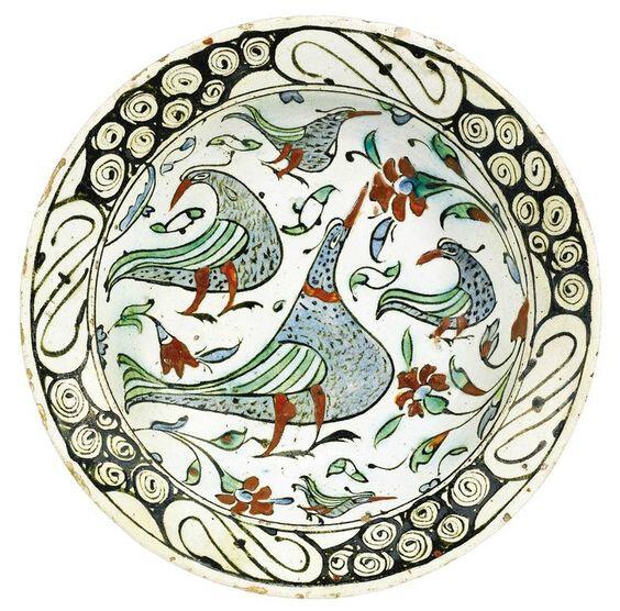 Plat-Iznik-Oiseaux-1600