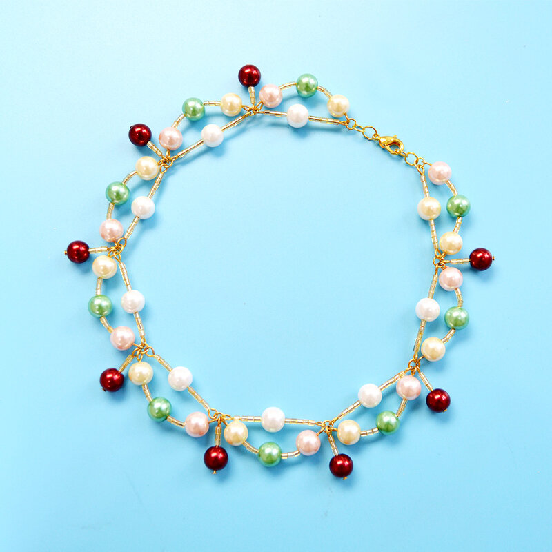 PandaHall-Tutorial-on-Making-Colorful-Pearl-Necklace-5