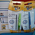 Stylo bille d'apprentissage bic kids