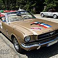 Ford mustang convertible-1965