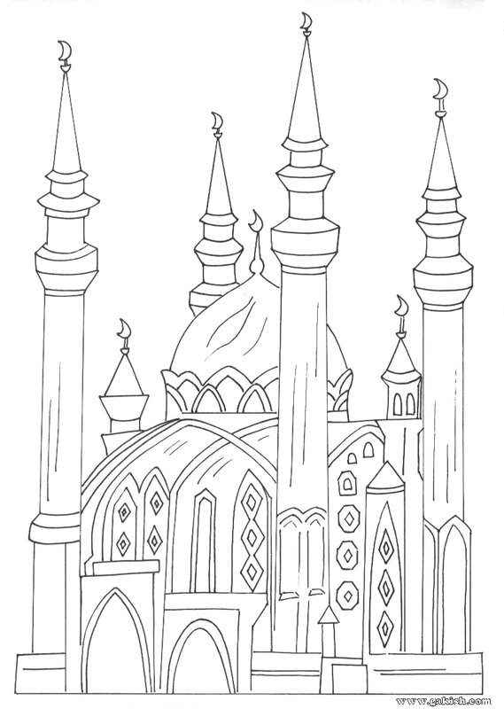 raskraski-mechet-coloring-pages-mosque-muslim-islamic-kids