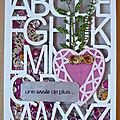 Carte alphabet ...