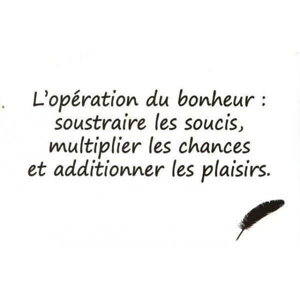 citation bonheur