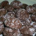 Biscuits au chocolat et raisins secs