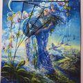 Une nouvelle carte en reverse iris folding !