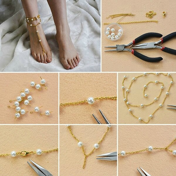 600-Easy-Tutorial-on-How-to-Make-Gold-Anklet-with-Beads-for-Girls