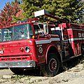 Ford c8000 custom cab firetruck 1957-1990