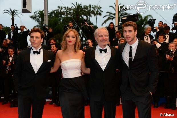 Catching Fire Hunger Games Cannes01