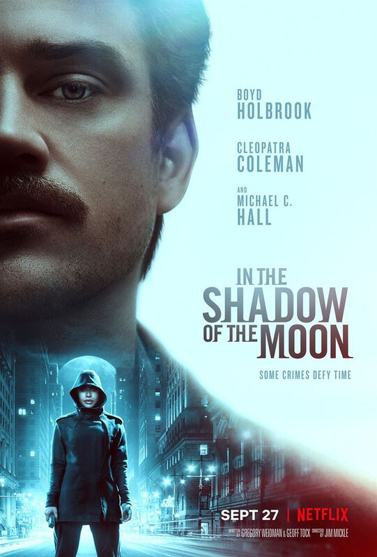 In the shadow of the moon affiche