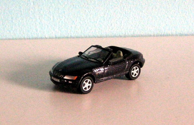 Bmw Z3 cabriolet (Cararama)