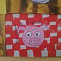 Les maisons des trois petits cochons