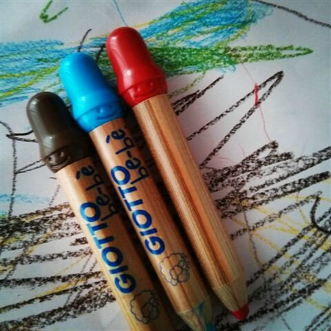 Crayons Giotto be-bè ©Kid Friendly