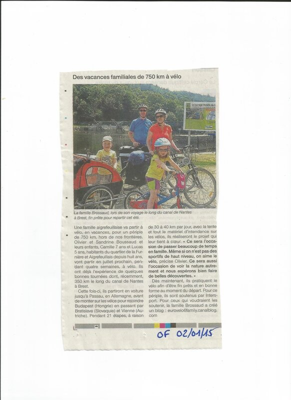OUEST FRANCE 020115