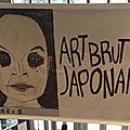 Art brut japonais à la halle saint pierre, à paris - suite
