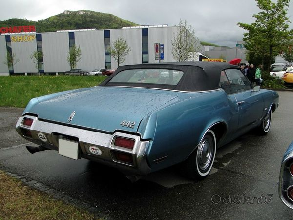 oldsmobile 442 convertible 1971 b