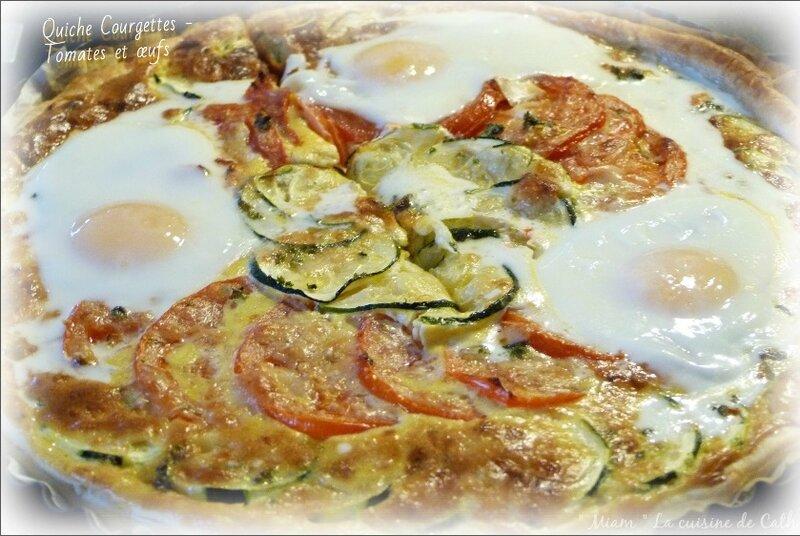 tarte légumes et œufs5
