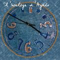 horloge d'Agnès