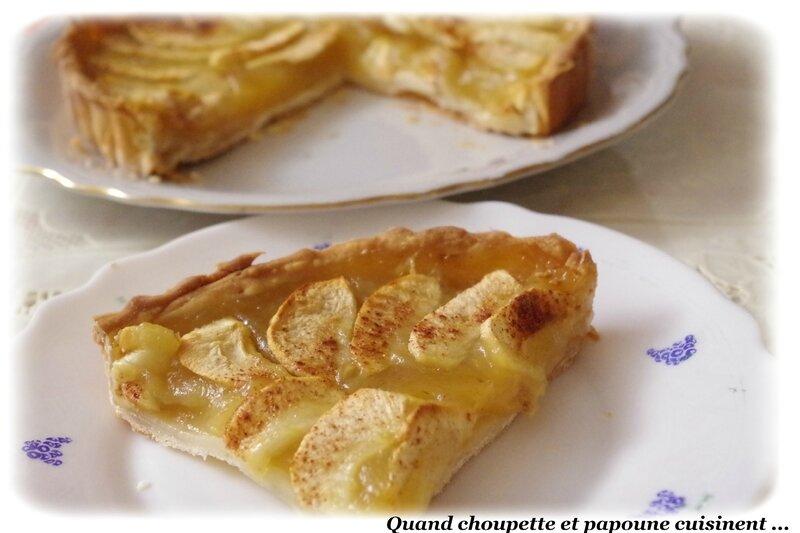 tarte à la compote de pommes-7632