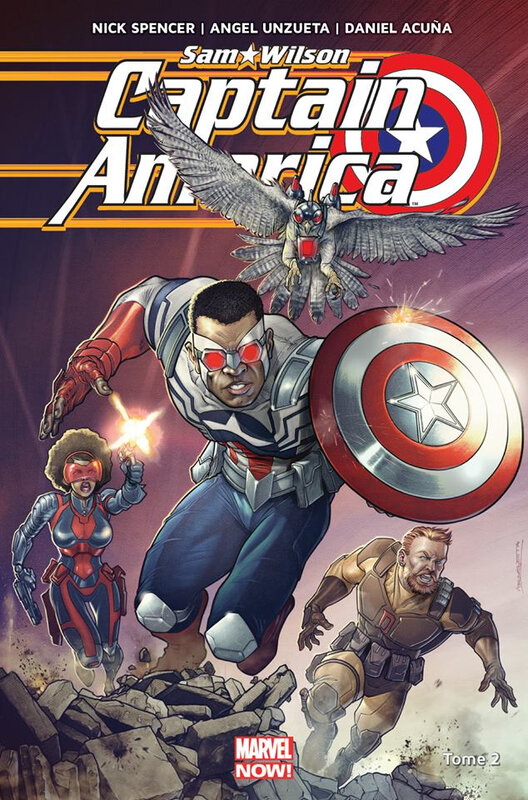 marvel now captain america sam wilson 02 civil war II