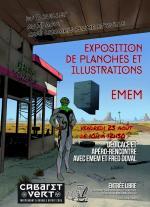 affiche expo Emem
