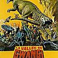 La vallée de gwangi (humanoïdes à caractère humain)