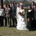 La famille des mariés