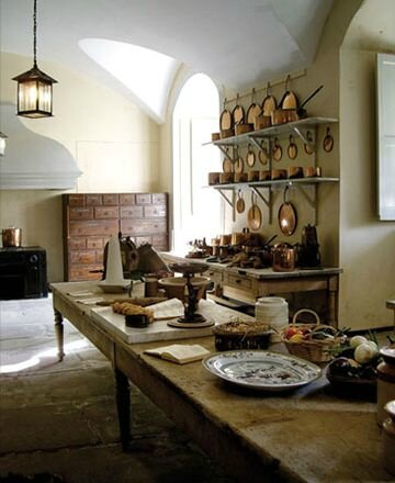 inveraray-castle-old kitchen