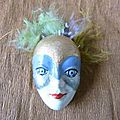 Masque Broche n° 9