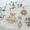 Jane baxter's sampler