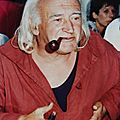 Rene vautier - photo de jean-claude salaün au festival de cinéma de douarnenez -