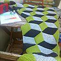 Cal vasarely blanket #10