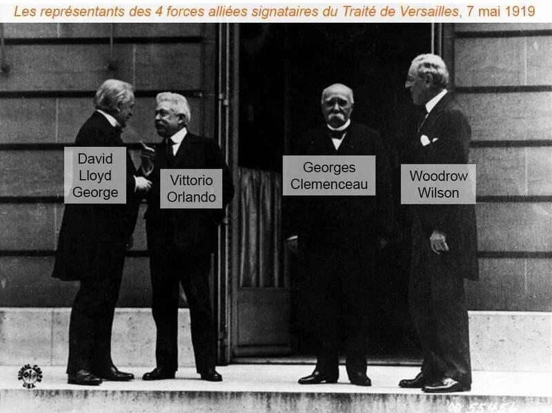 Représentant Traité de Versailles