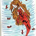 Lady red fish...