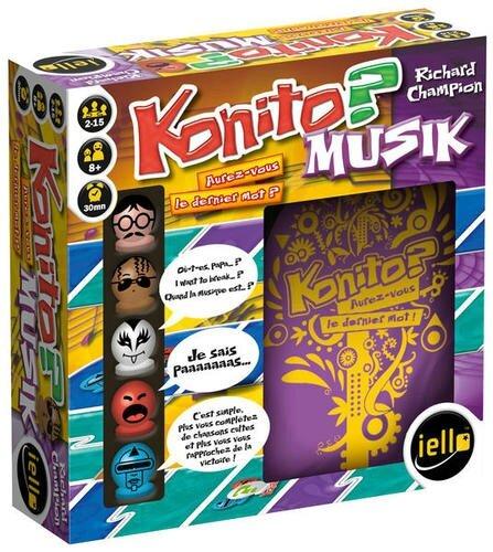 Boutique jeux de société - Pontivy - morbihan - ludis factory - Konito musik