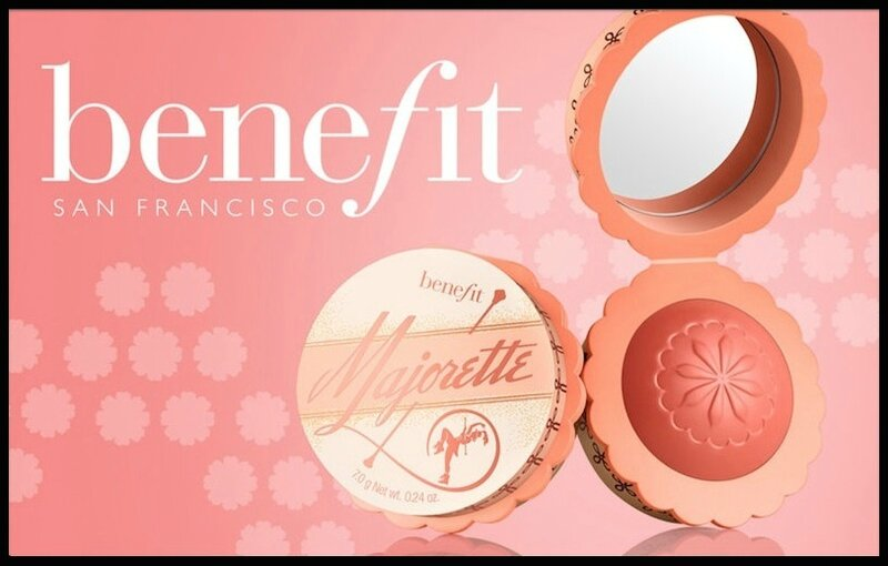 benefit blush majorette 1