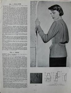Tricot monde n° 212 - Années 1950 (5)
