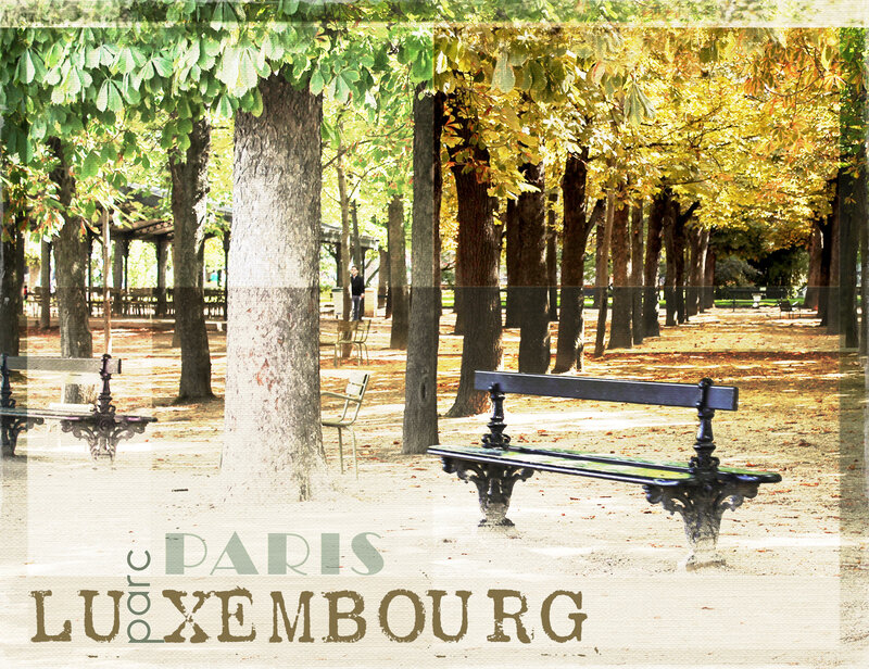 Luxembourg - Banc 002
