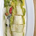 Kimchi blanc au yaourt
