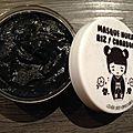Swap escale au japon - masque nuka riz/charbon