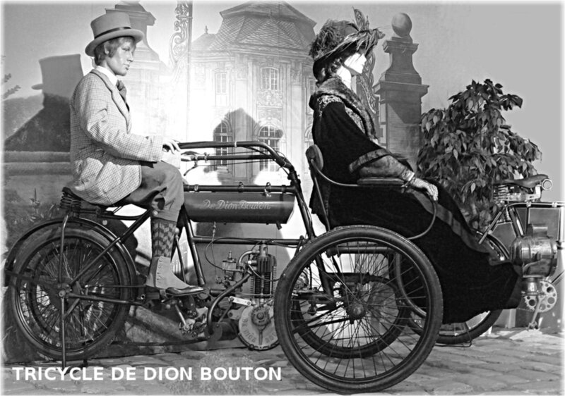 1900-Tricycle De Dion Bouton