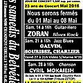 Programme mai 2016