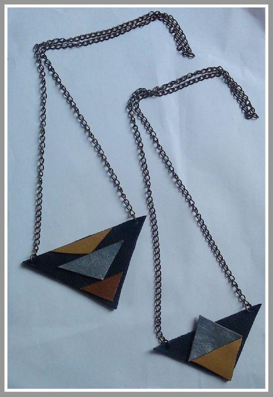 collier cuir
