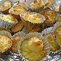 Bolinhos de côco ( les rocher à la noix de coco du portugal )