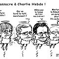 Charlie massacré-France en deuil