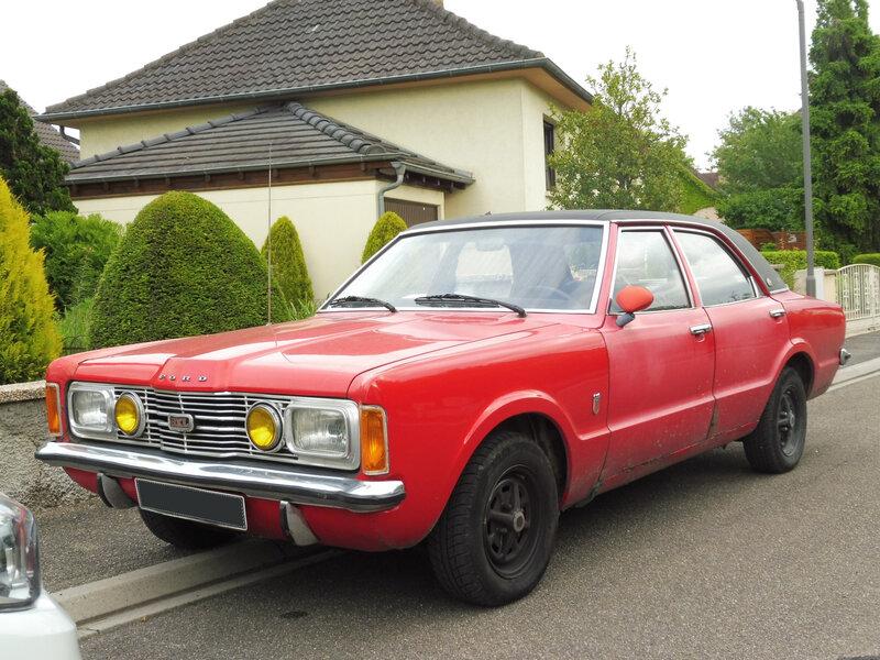 FORD Taunus TC 1600 GXL berline 4 portes 1971 Illkirch Graffenstaden (1)