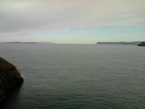 A droite, L'irlande du Nord, à gauche, l'Ecosse !!!