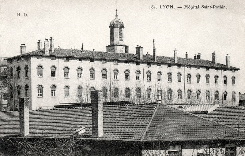 Lyon, hôpital Saint-Pothin