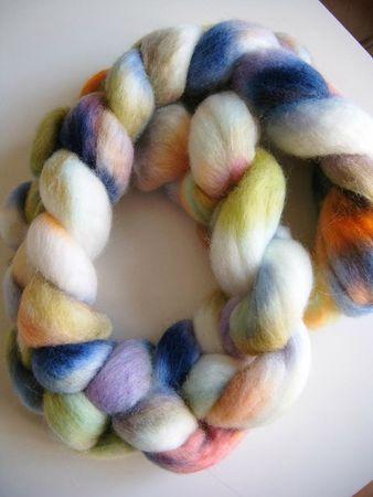 teinture alimentaire fibres agneau NZ 011