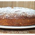 Gâteau moelleux à la farine de maïs (sans gluten)