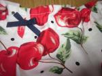Culotte BIANCA en coton blanc imprimé cerises - noeud marine (1)